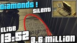 Casino Heist - Diamonds ( Elite, Hard mode Silent) | GTA Online