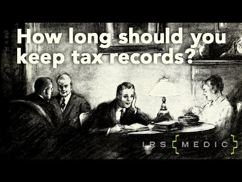 How Long Should Keep My Tax Records