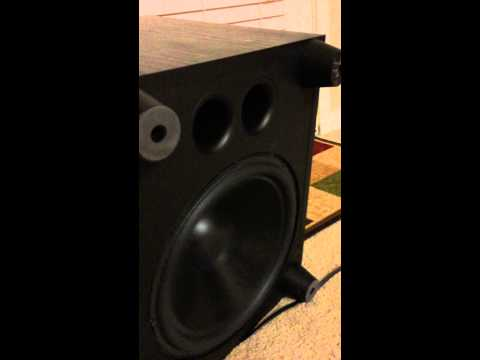 boston acoustics pv 800 powered subwoofer 12 inch 300 watts youtube. Black Bedroom Furniture Sets. Home Design Ideas