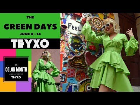 TEYXO Urban Fashion | The Green Days