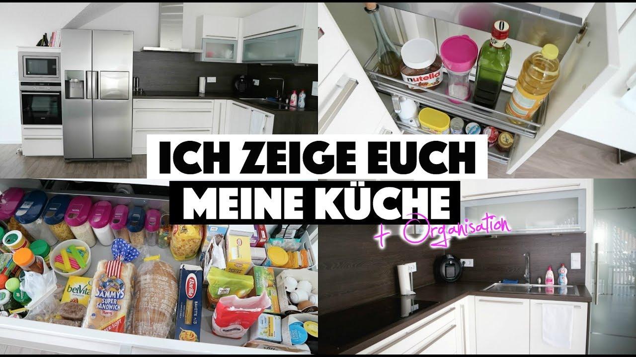 MEINE KÜCHE - KÜCHENTOUR + ORGANISATION - YouTube