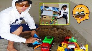 Toys Kids Channel| Excavator Dump Truck Construction Vehicles Toys for Kids