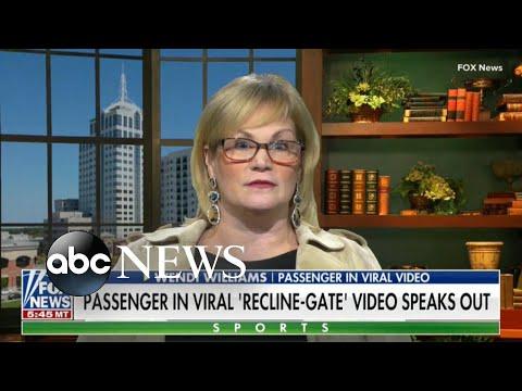 Woman who filmed fellow passenger threatens to sue l ABC News