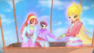 Winx Club Season 6 Ep9 Shrine of the green dragon Part 1