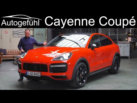 Porsche Cayenne Turbo Coupé Exterior Interior Premiere REVIEW - Autogefühl