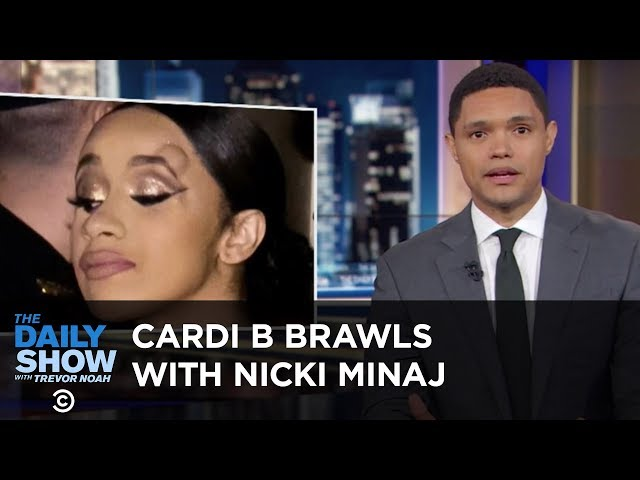 Cardi B Brawls with Nicki Minaj & Elon Musk Gets High with Joe Rogan | The Daily Show