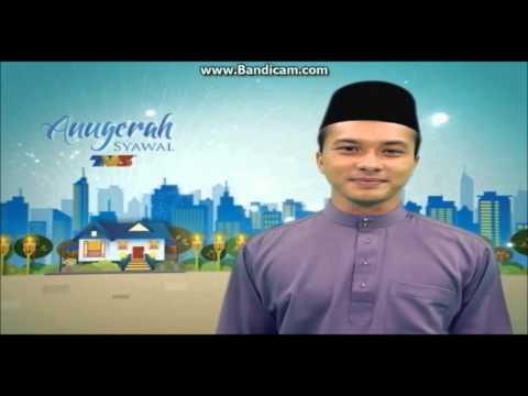 TV3 Anugerah Syawal - Aidilfitri greetings from Nicholas Saputra (August 2014)