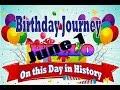 Birthday Journey June 1 New