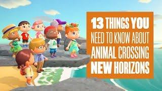 Animal Crossing: New Horizons Gameplay - 13 Things You Need To Know About Animal Crossing Switch
