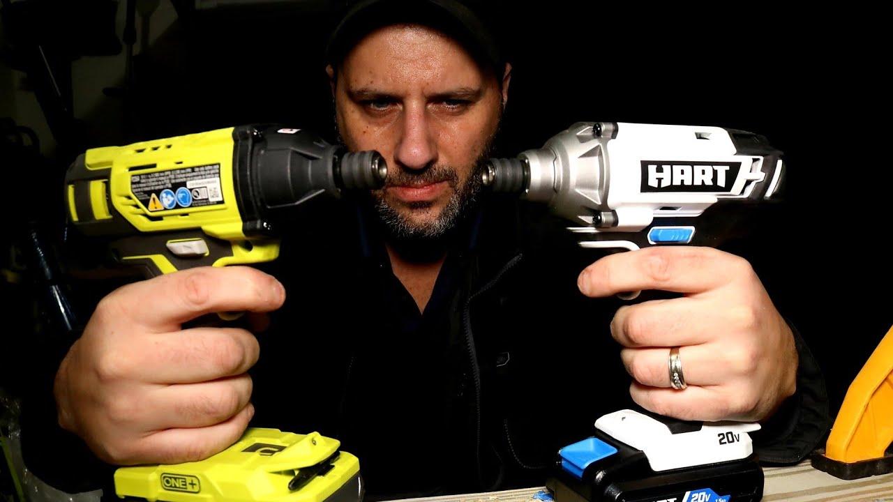 Hart Vs Ryobi All New Hart Impact Driver Goes Head To Head With The Ryobi Impact Driver Youtube