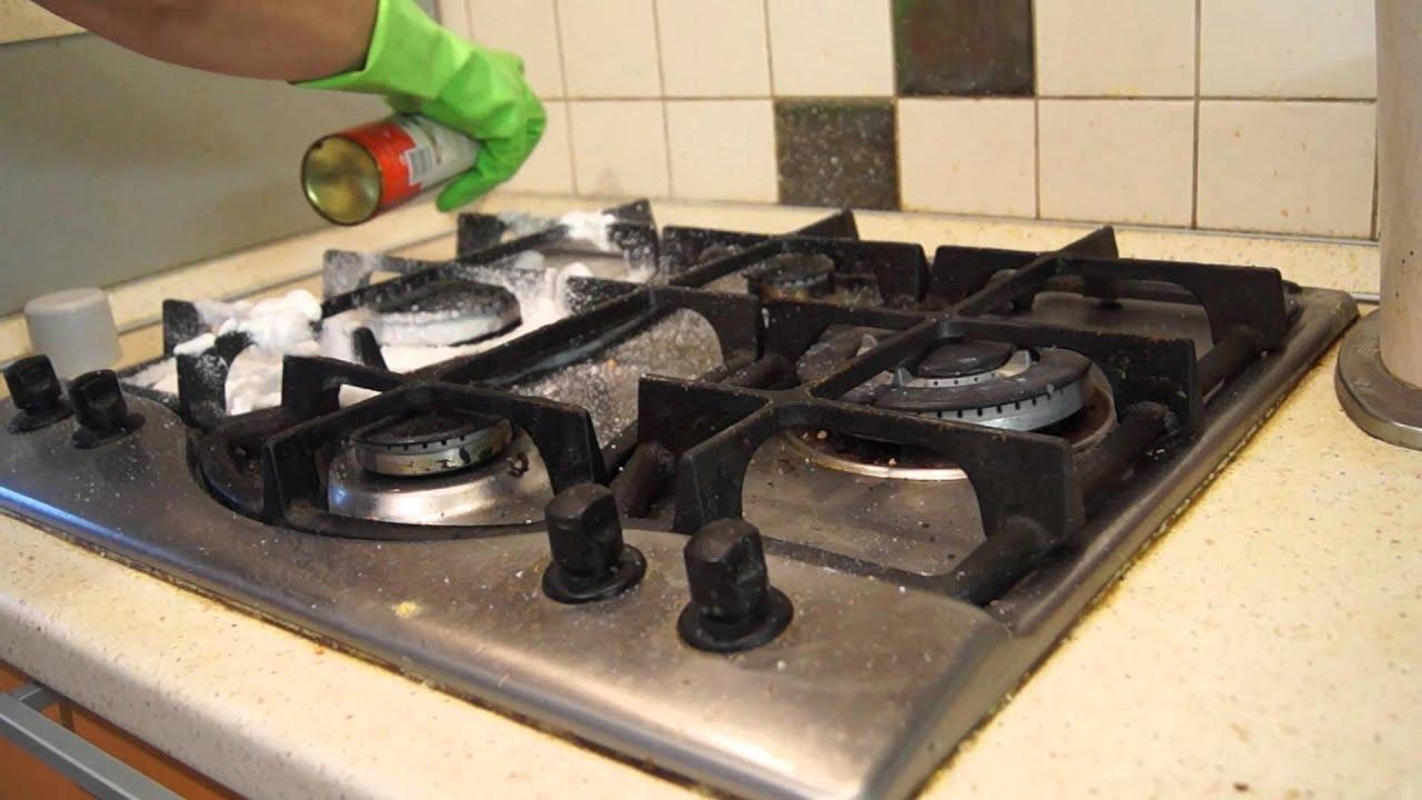 Чистка духовки газовой плиты йутуб адриэль средство плит щитовидная