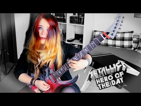 METALLICA - Hero Of The Day [GUITAR COVER] 4K   Jassy J
