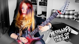 METALLICA - Hero Of The Day [GUITAR COVER] 4K | Jassy J