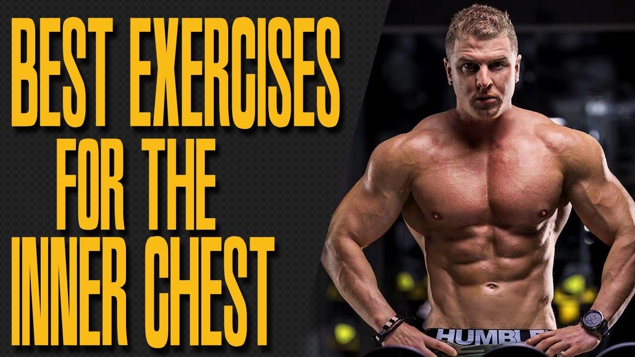 Best INNER CHEST exercises! - YouTube
