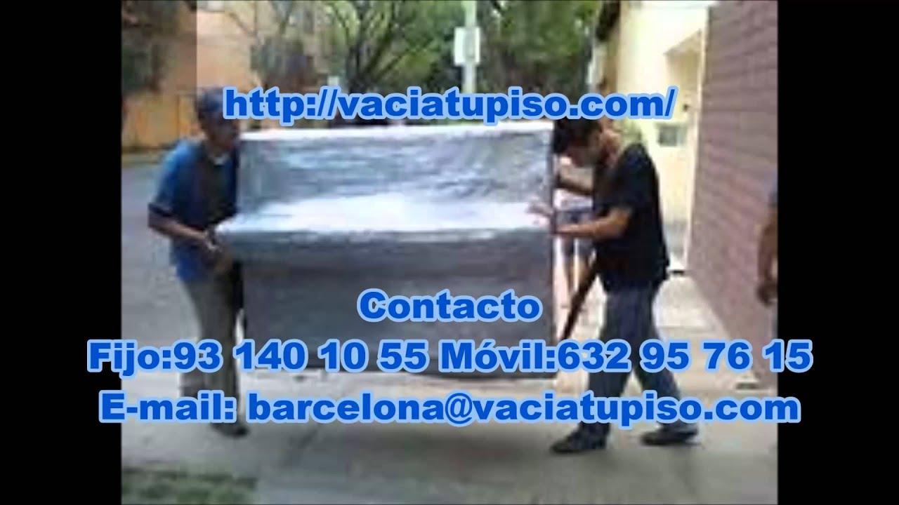 Vaciado de pisos barcelona recogida de muebles barcelona for Recogida muebles gratis barcelona