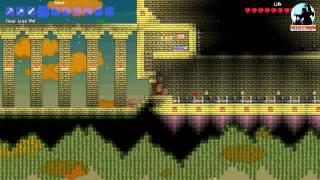 Ep. 1 : Raid of The Sky Temple | Terraria | H1N1Virus & Flewer