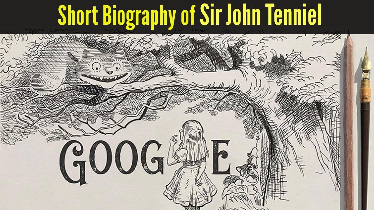 Who is John Tenniel? Today's Google Doodle celebrates the Alice ...