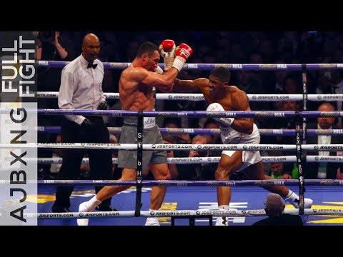 Full Fight | Anthony Joshua Vs Wladimir Klitschko TKO