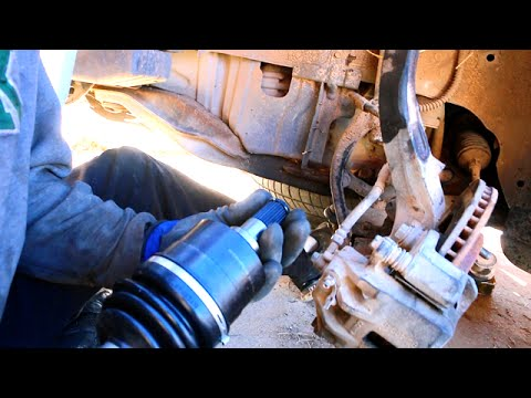Clunk/thumping sound when Turning & Accelerating - How to Replace a Half  Shaft Axle
