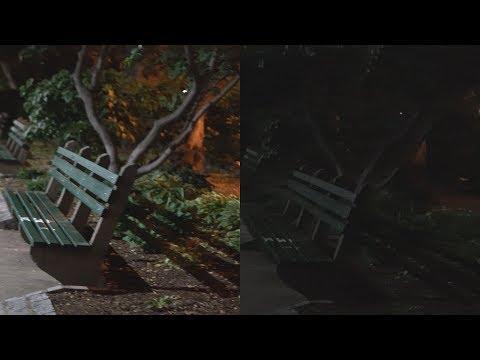 Compare Sony A7iii vs AX53 in videos