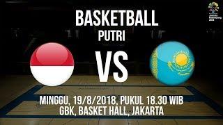 Download Video Jadwal Laga Timnas Basket Putri Indonesia Kontra Kazakhstan di Asian Games 2018 MP3 3GP MP4