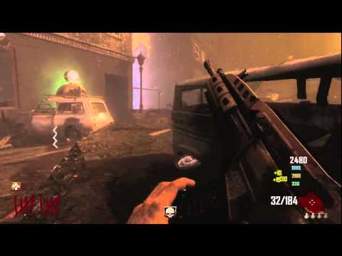Black ops 2 Zombies Town Survival W/ Wolf Pack
