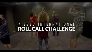 [IC Live 2015] AIESEC International Roll Call Challenge