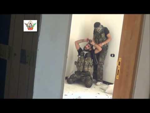 لواء التوحيد -العامرية-ضرب حاجز للجيش الاسدي ج1