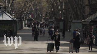 'It's too quiet': Barcelona residents reflect on Spain's coronavirus lockdown