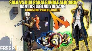 New Bundle Demon Hand Tas Legend Yin Yang Solo Vs Duo Langsung Panen 14 Kill Free Fire