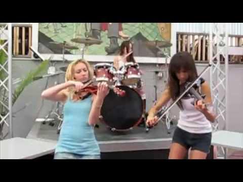 Rock violin girls