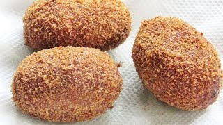 How To Make Fish Cutlets - Kerala Recipes | Nisa Homey
