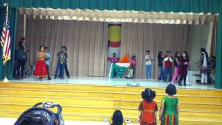 Vande mataram- maa tujhe salaam Dance Rehearsal - A R Rahman.MOV
