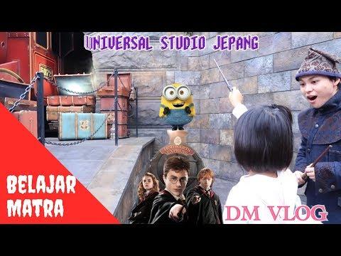VLOG#141 H 2 BELAJAR MANTRA HARRY POTTER UNIVERSAL STUDIO JEPANG