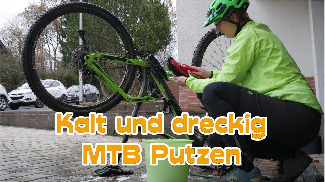MTB Tour kalt & dreckig | Ich putze mein MTB | MTBTravelGirl - YouTube