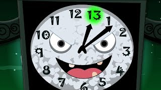 นาฬิกาได้หลงสิบสาม | เพลง เด็ก อนุบาล | Clock Has Struck Thirteen | Schoolies Thailand