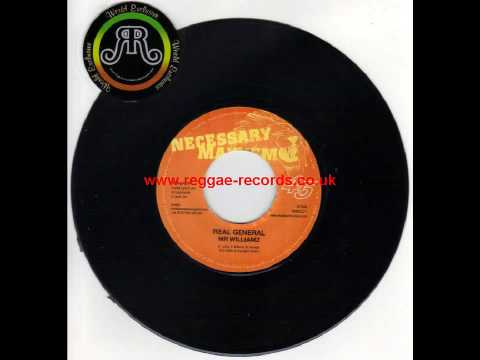 MR Williamz - Real General - Come Down Riddim