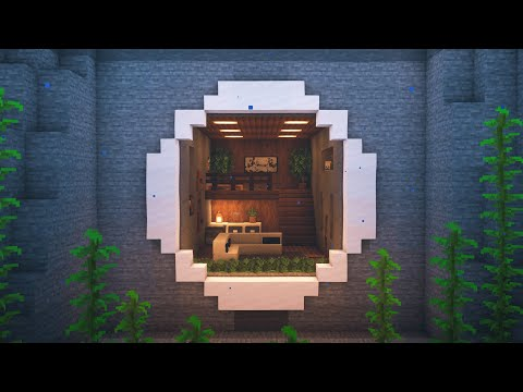 Minecraft   How to Build an Underwater Mountain House - Видео онлайн