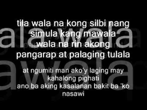 Kulang na Kulang Ba-Repablikan Lyrics