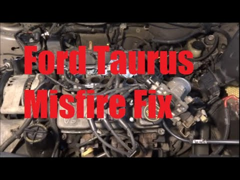 2002 Ford Taurus Misfire Fix (Fuel Injector)  YouTube