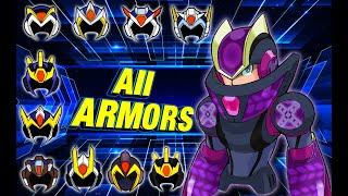 Armaduras de Megaman X (ALL)