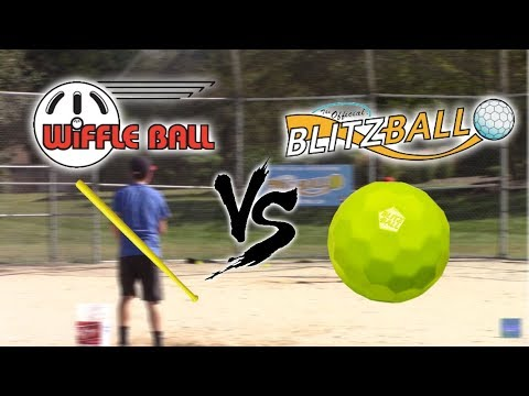 Wiffle Ball Bat vs Blitzball