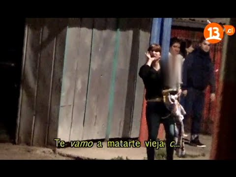 Guerra entre pandillas Poblacion Parinacota de Santiago