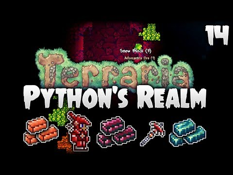 Terraria Let's Play (1.3.5) | Surging Through The Hardmode Ores! | Python's Realm [S2 - Episode 14]