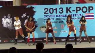 130907 Starlitz cover f(x) - Electric Shock + Rum Pum Pum Pum @2013 K-POP COVER DANCE FESTIVAL
