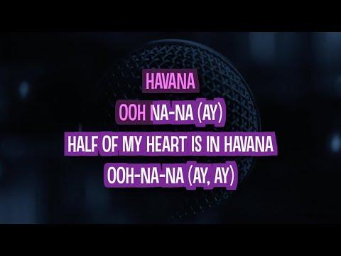 Havana (Karaoke Version) - Camila Cabello | TracksPlanet