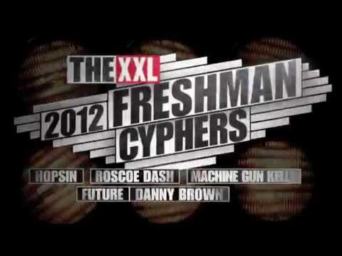 Thumbnail: XXL Freshmen 2012 Cypher - Part 1 - Hopsin, Roscoe Dash, Machine Gun Kelly, Future & Danny Brown