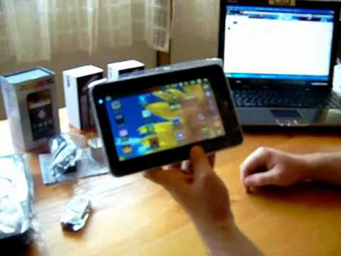 Tablet PC 7 pollici con Android 2.2 - WIFI - 3G + custodia protettiva 7 pollici
