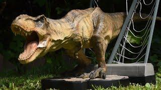 new breakout t rex statue unboxing review