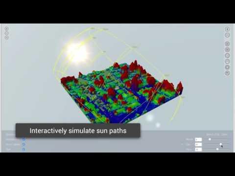 LIDAR Modeling for Remote Solar Design in Aurora